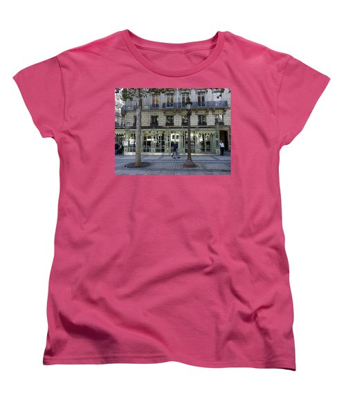 Laderee On The Champs De Elysees In Paris France  Women's T-Shirt (Standard Cut) by Richard Rosenshein