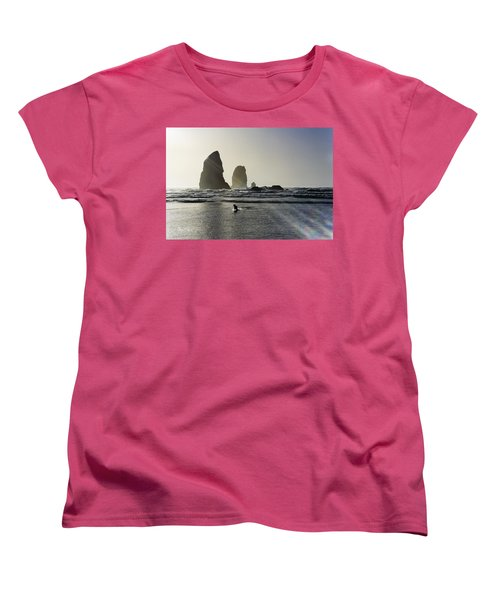 Lady Jessica Of The Great Northwest Women's T-Shirt (Standard Cut) by Susan Molnar