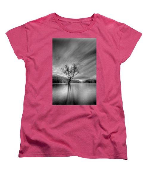 Lake Tree Mon Women's T-Shirt (Standard Cut) by Beverly Cash