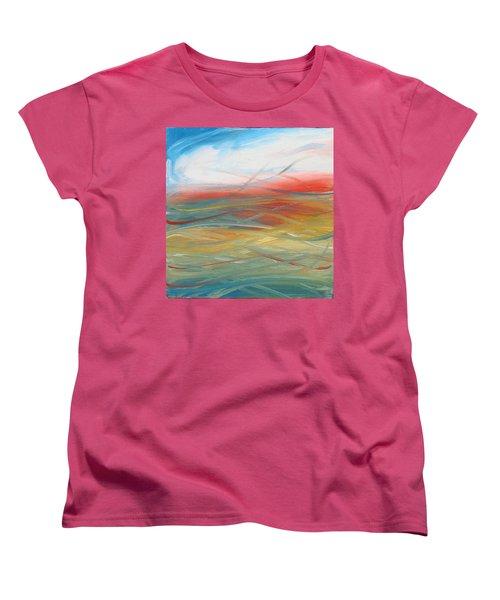 Landscape I Women's T-Shirt (Standard Cut) by Sheridan Furrer