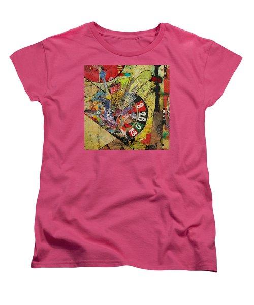 Las Vegas Collage Women's T-Shirt (Standard Cut)