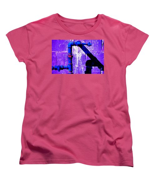 Women's T-Shirt (Standard Cut) featuring the photograph Leaky Faucet IIi by Christiane Hellner-OBrien