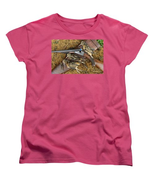 Lefever And Timberdoodle - D004023 Women's T-Shirt (Standard Cut) by Daniel Dempster