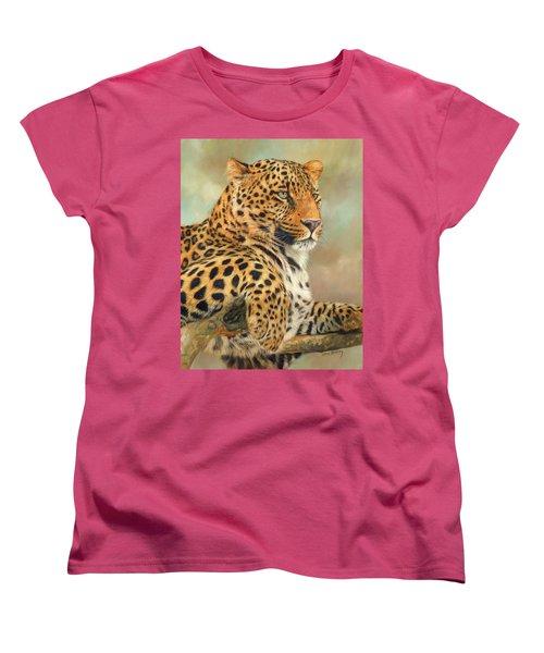 Leopard Women's T-Shirt (Standard Cut)