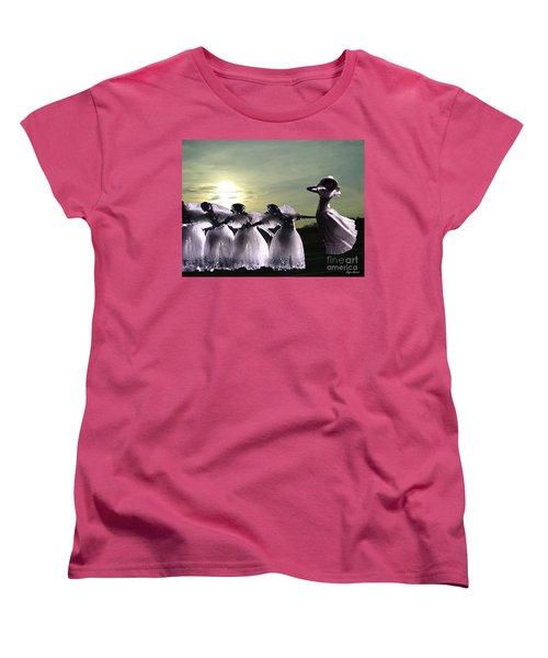 Lift Up Your Spirit Women's T-Shirt (Standard Cut) by Lyric Lucas