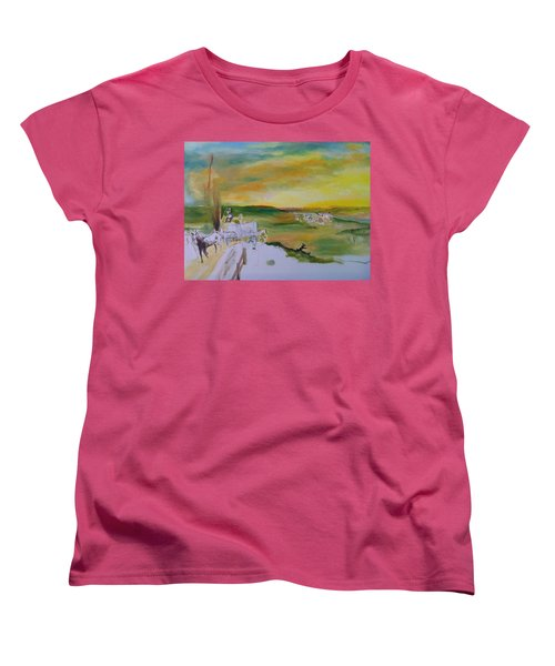 Light Women's T-Shirt (Standard Cut) by Mary Ellen Anderson