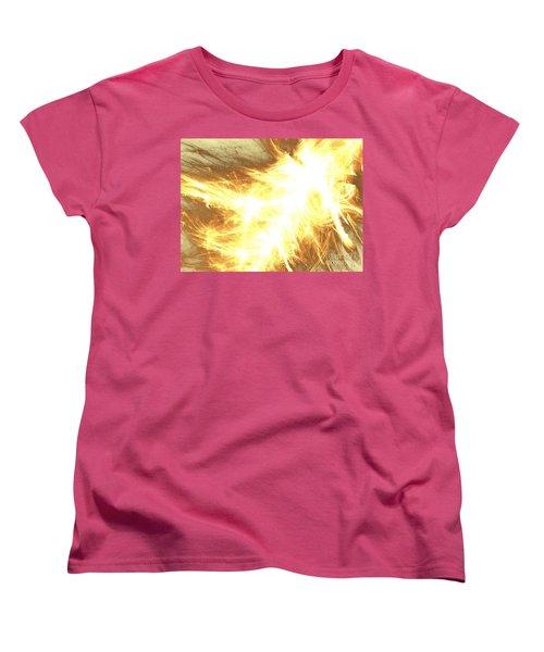 Women's T-Shirt (Standard Cut) featuring the digital art Light Spark by Kim Sy Ok