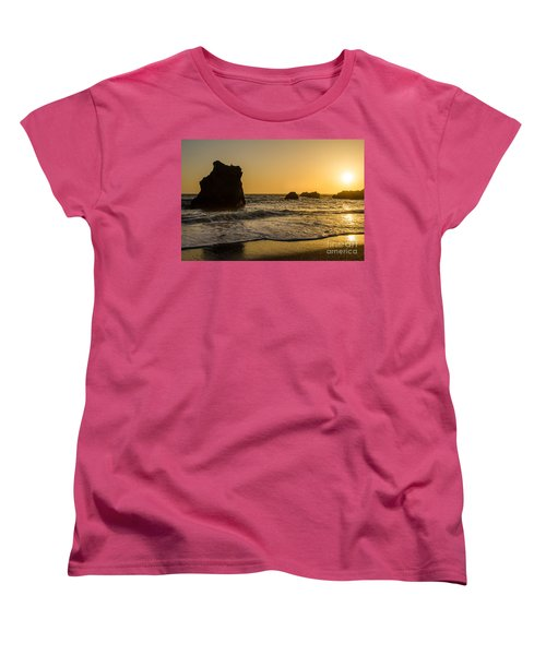 Women's T-Shirt (Standard Cut) featuring the photograph Little Bird by CML Brown