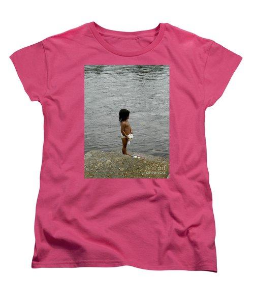 Little Laundress Women's T-Shirt (Standard Cut) by Kathy McClure