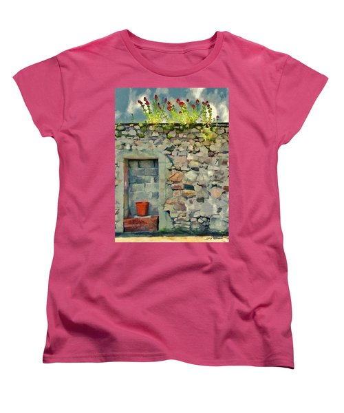 Location With A View Women's T-Shirt (Standard Cut) by Jeff Kolker