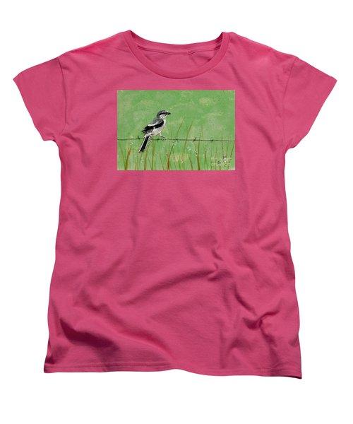 Loggerhead Shrike Women's T-Shirt (Standard Cut)