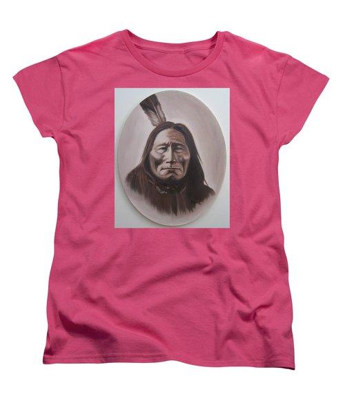 Long Bear Women's T-Shirt (Standard Cut) by Michael  TMAD Finney