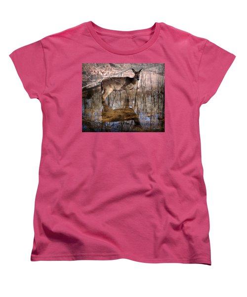 Looking Cute Women's T-Shirt (Standard Cut) by Bill Stephens