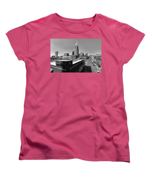 Looking Down On Nashville Women's T-Shirt (Standard Cut) by Dan Sproul