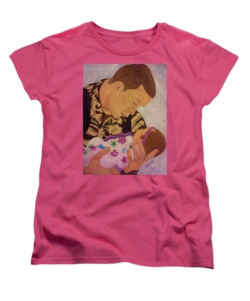 Love At First Sight Women's T-Shirt (Standard Cut) by Christy Saunders Church