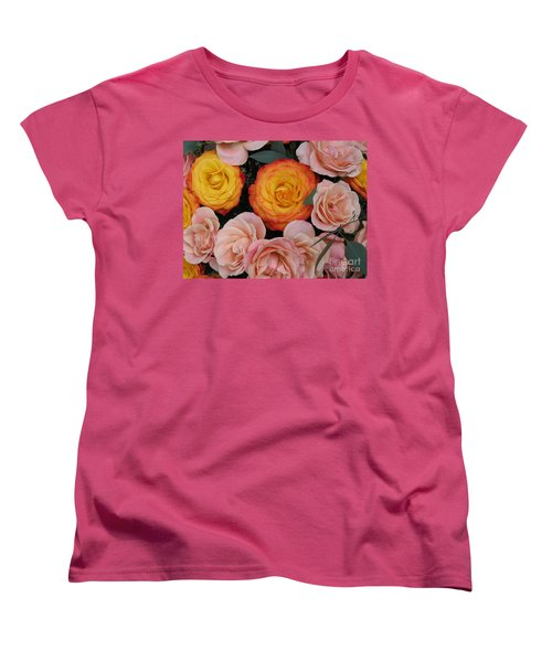 Love Bouquet Women's T-Shirt (Standard Cut) by HEVi FineArt