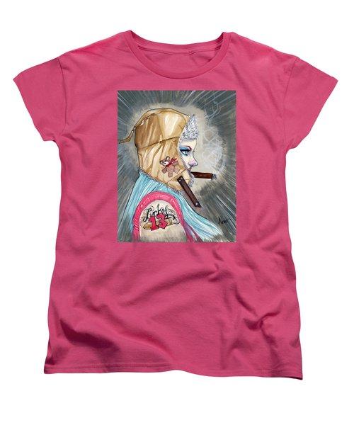 Lucky Bullet 13 Women's T-Shirt (Standard Cut) by Jimmy Adams