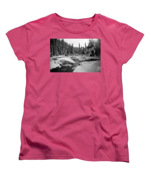 Madawaska River Women's T-Shirt (Standard Cut) by David Porteus