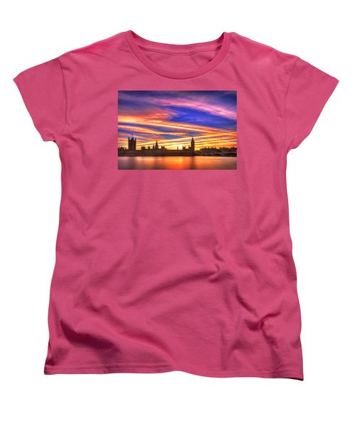 Magical London Women's T-Shirt (Standard Cut) by Midori Chan