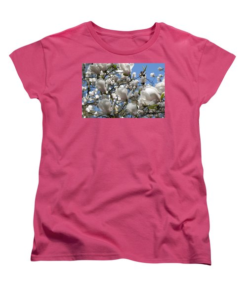 Women's T-Shirt (Standard Cut) featuring the photograph Magnolia by Lana Enderle