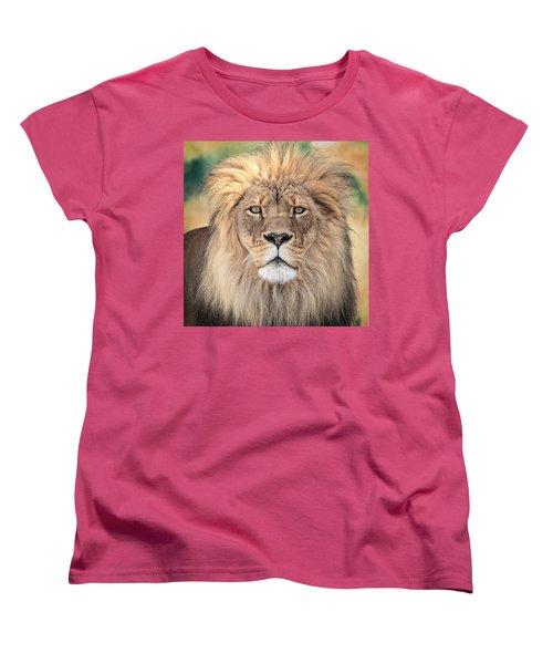 Majestic King Women's T-Shirt (Standard Cut) by Everet Regal