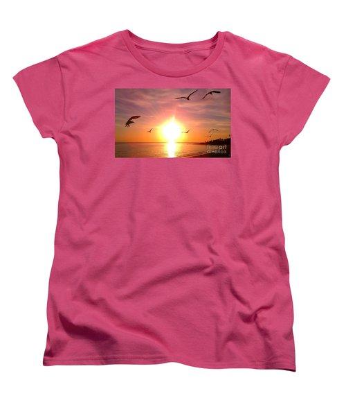 Malibu Paradise Women's T-Shirt (Standard Cut)
