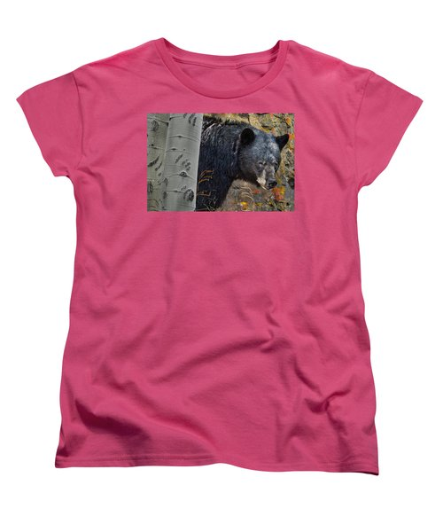 Mama Bear Women's T-Shirt (Standard Cut) by Ed Hall