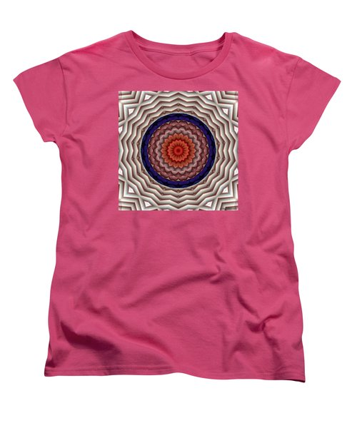 Mandala 10 Women's T-Shirt (Standard Cut) by Terry Reynoldson