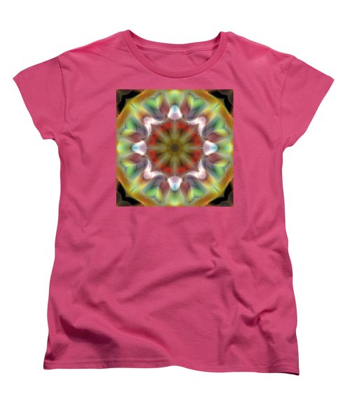 Mandala 97 Women's T-Shirt (Standard Cut) by Terry Reynoldson