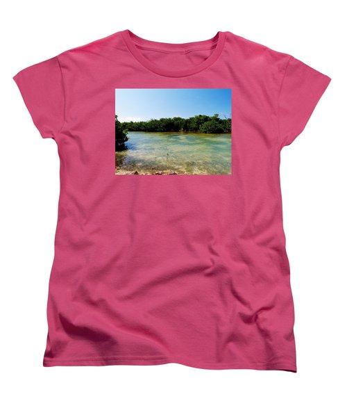 Women's T-Shirt (Standard Cut) featuring the photograph Mangrove @ Safehaven Sound by Amar Sheow