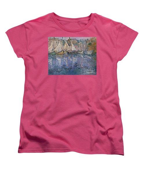 Marina Women's T-Shirt (Standard Cut) by AmaS Art