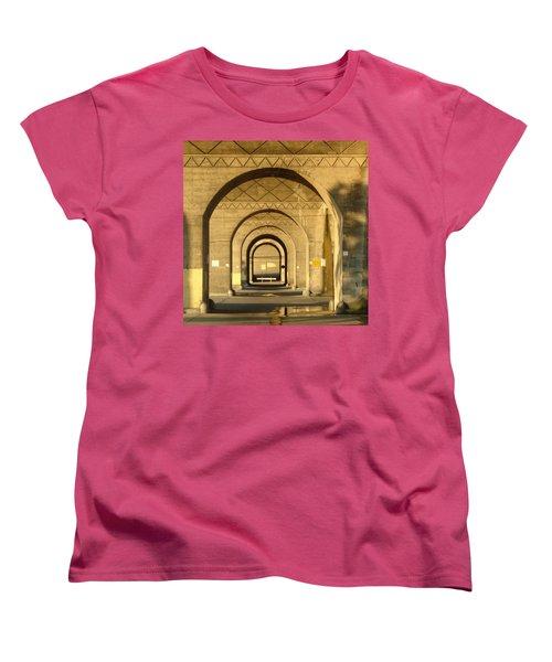 Women's T-Shirt (Standard Cut) featuring the photograph Matryoska by Joseph Skompski