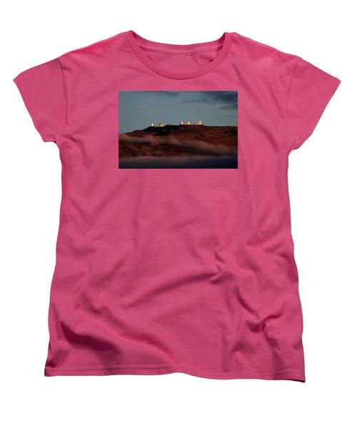 Mauna Kea Women's T-Shirt (Standard Cut) by Pamela Walton