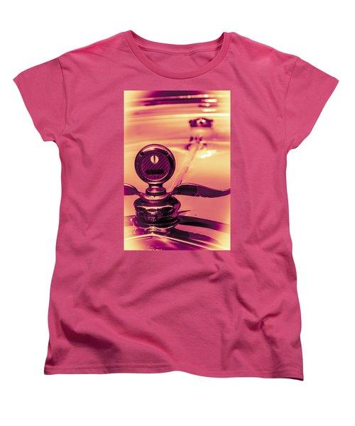 Women's T-Shirt (Standard Cut) featuring the digital art Messko Thermometer by Bartz Johnson