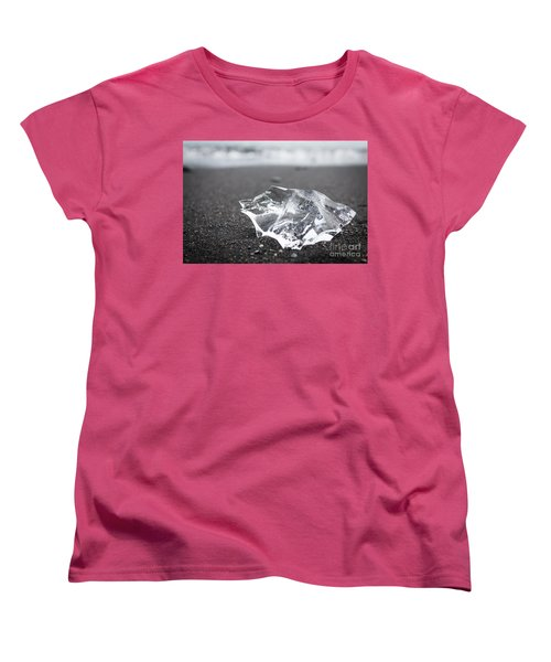 Women's T-Shirt (Standard Cut) featuring the photograph Millennium Ice by Peta Thames