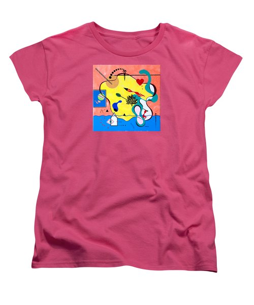 Miro Miro On The Wall Women's T-Shirt (Standard Cut) by Thomas Gronowski