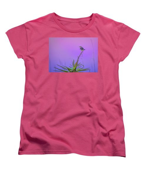 Women's T-Shirt (Standard Cut) featuring the photograph Mocking The Yucca by Rob Sellers