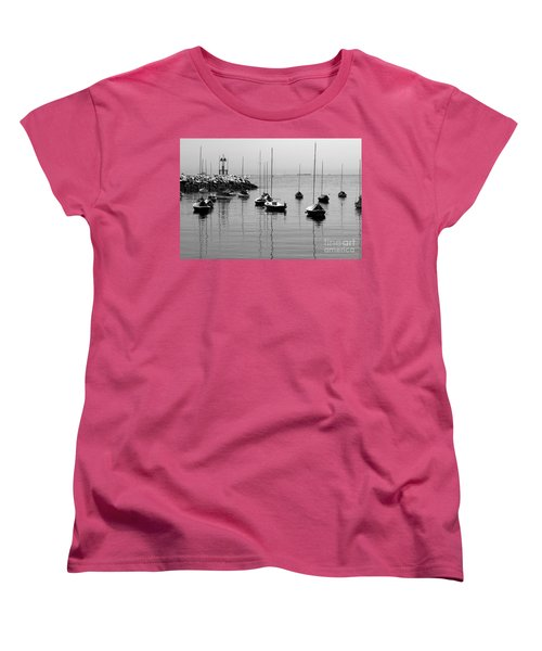 Moored Women's T-Shirt (Standard Cut) by Eunice Miller