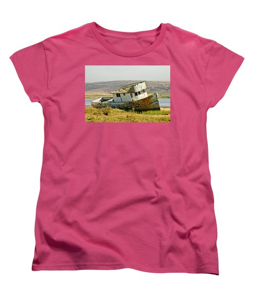 Morning At The Pt Reyes Women's T-Shirt (Standard Cut) by Bill Gallagher
