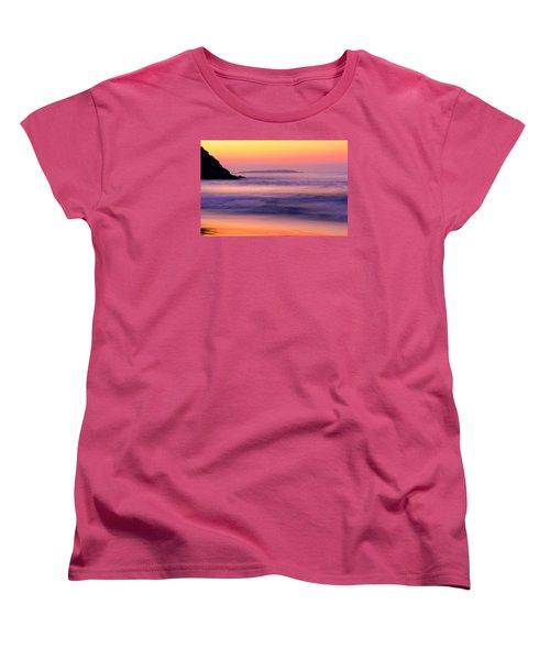 Morning Dream Singing Beach Women's T-Shirt (Standard Cut) by Michael Hubley