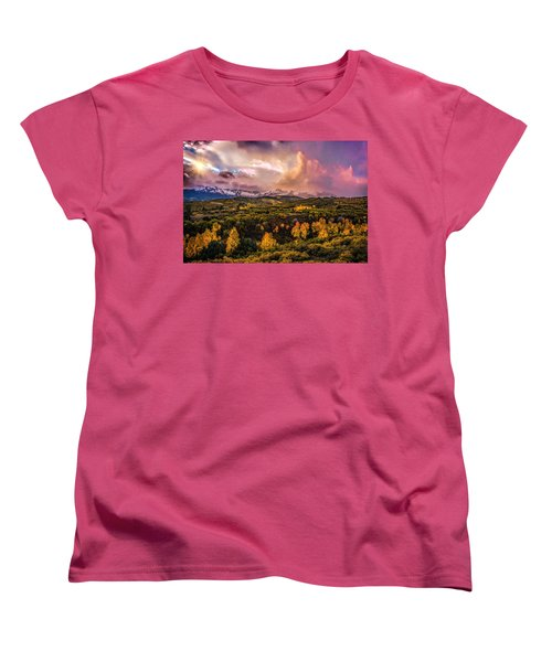Women's T-Shirt (Standard Cut) featuring the photograph Morning Glory by Ken Smith