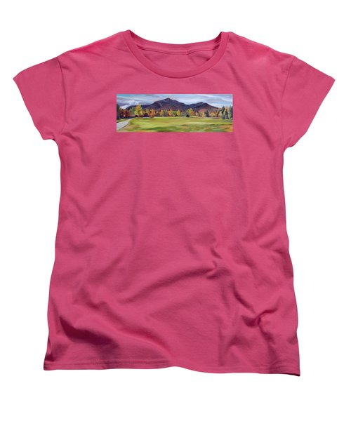 Mount Osceola New Hampshire Women's T-Shirt (Standard Cut) by Nancy Griswold