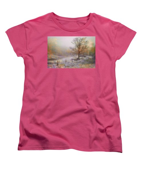 Mountain Mist II Women's T-Shirt (Standard Cut) by William Beuther