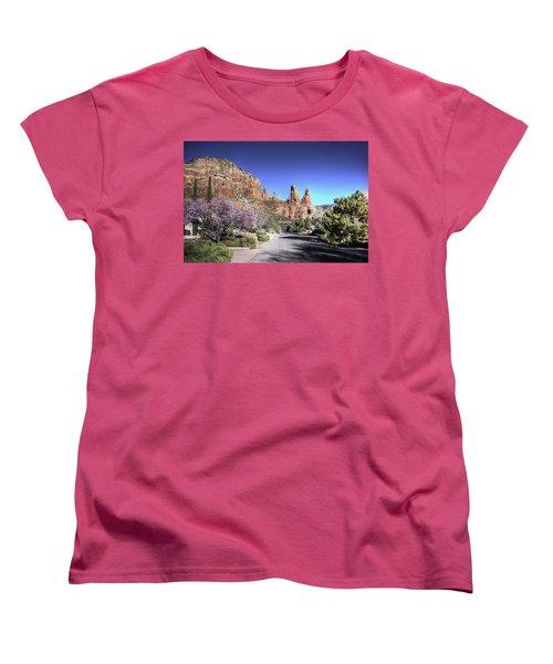 Mushroom Rock Women's T-Shirt (Standard Cut)