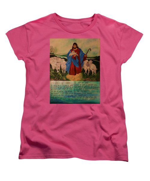 My Shepherd Women's T-Shirt (Standard Cut) by Christy Saunders Church