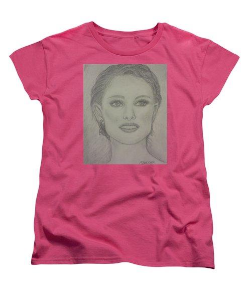 Natalie Women's T-Shirt (Standard Cut) by Christy Saunders Church