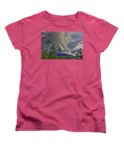 Nature Showing Off Women's T-Shirt (Standard Cut) by Tom Culver