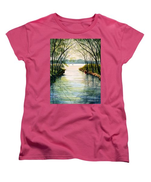 Nature's Cathedral Women's T-Shirt (Standard Cut) by Marilyn Smith