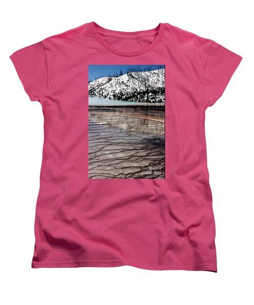 Women's T-Shirt (Standard Cut) featuring the photograph Nature's Mosaic II by Sharon Elliott