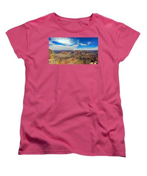 Near Perfect Day Women's T-Shirt (Standard Cut) by Dave Files